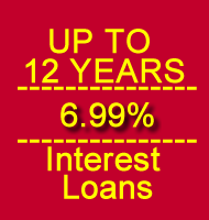 12 Years 6.99 percent interest loans